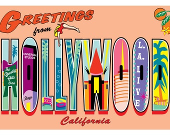 Greetings Hollywood Letters
