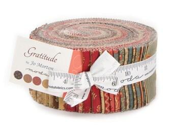 """Moda Jelly Roll. """"Gratitude,"""" by Jo Morton for Moda"""