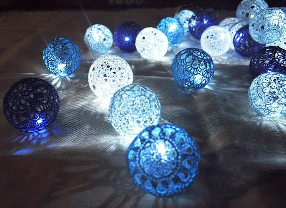 Blue String Lights For Bedroom : String Lights Fairy Lights Wedding Lighting Night by Vitalights