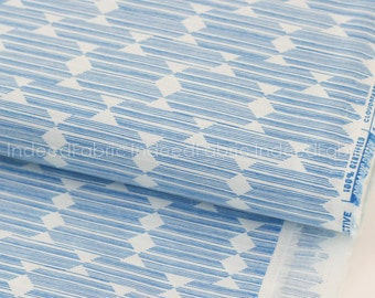 Anecdote Blue- Lore, Cloud 9 Fabrics, Certified Organic Cotton Fabric, Quilting Weight