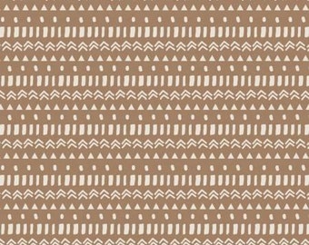 Caramel Geo, Equestrian Collection, Camelot Fabrics, Quilting Weight Cotton Fabric