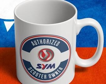 SYM scooter owner mug