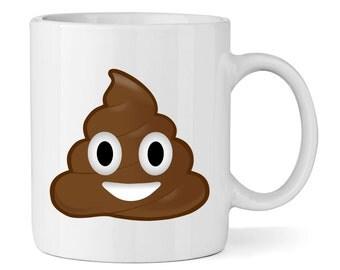 Poo Poop Emoji 11oz Mug Cup