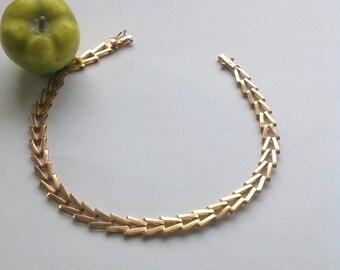 vintage 18k gold bracelet, gold bracelet, bracelet, bracelet for her, bracelet for him, 18k jewelry
