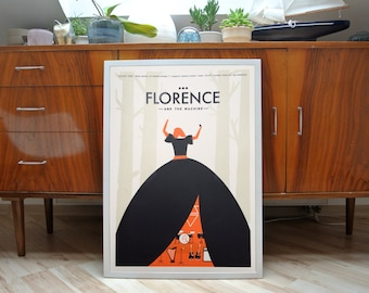 Florence & The Machine | A2 screenprint | limited of 40