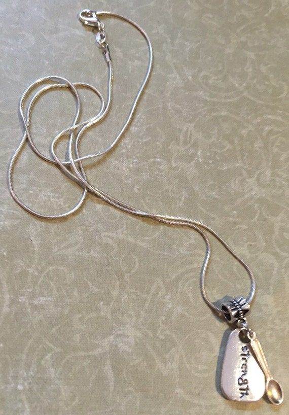 spoon theory strength necklace sle lupus chiari