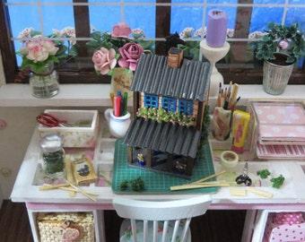 Tiny dollhouse for your dollhouse (1:12 scale)