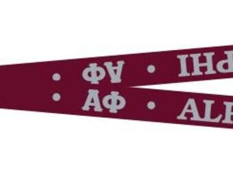 Alpha Phi Lanyard/Key Chain