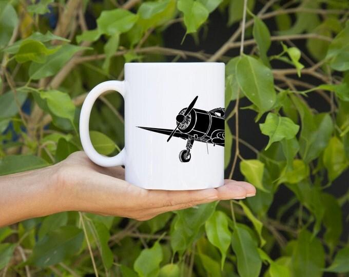 KillerBeeMoto:  U.S. Made Spartan 7W Executive Plane Coffee Mug