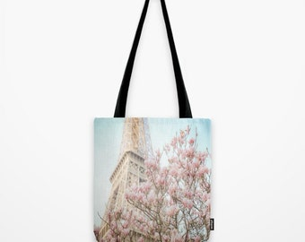 Eiffel Tower Tote Bag, Paris Tote Bag, Summer Bag, Gym Bag, Shopping Bag, Girls Fashion Tote, Book Bag, School Tote, Paris, Gift Idea