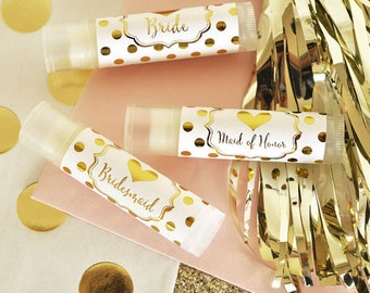 Bridesmaid Gift Lip Balm