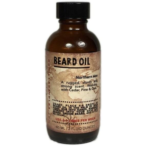 Beard Oil - Unscented Neanderthal Man 2 Oz. Bottle