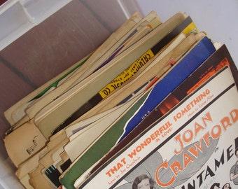 200 and More Antique / Vintage Sheet Music
