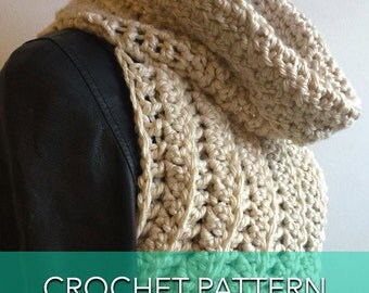 Crochet Pattern / Huntress Cowl Vest - Katniss Hunger Games