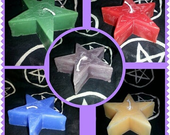 Runes candle different colours