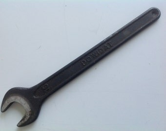 Vintage Dowidat No. 10 Wrench  Watch maker repair tool