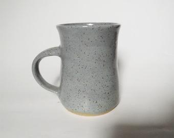 Gray Stoneware Mug