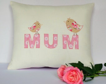 Personalised Mum cushion - Perfect Mother's Day gift