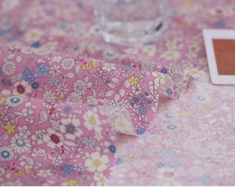 Laminated Cotton Fabric Pink By The Yard