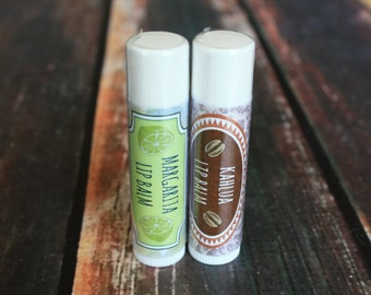 Pick 2 Handmade Lip Balms for 4 Dollars - 19 Assorted Flavors to Pick From / Beeswax Lip Balm
