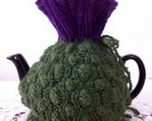 Scottish Thistle Tea Cozy - Outlander - Robert Burns - Downton Abbey - High Tea - Braveheart - Balmoral - Edinburgh Thistle