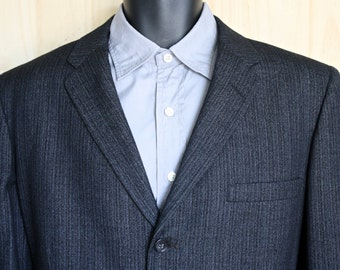 Bond Clothes/ Men's Vintage 1950s Bond Clothes Sport Jacket/ Men's Vintage Blazer/ Grey Sport Jacket/ Wool Suit