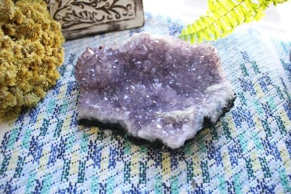Large Amethyst Cluster - Brazilian Natural Formation - Feng Shui - Craft Supply - Crystal Healing (RK128-22)