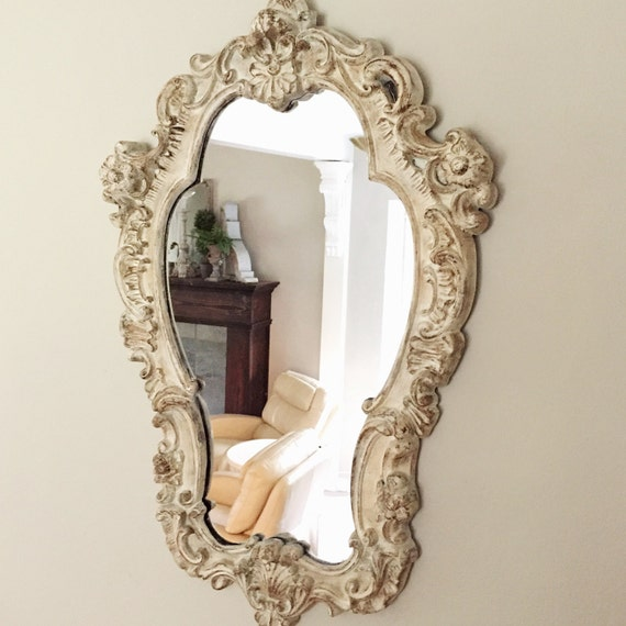 Large Ornate Mirror Shabby Chic Mirror French Nordic Style