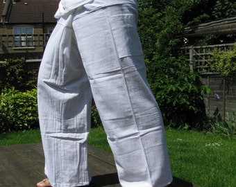 100% Thick Cotton Thai Fisherman Pants