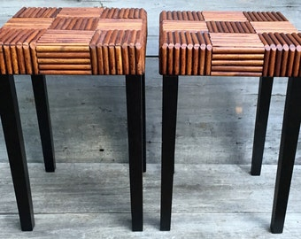Twig End Table Etsy
