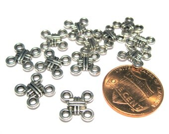 20pcs Chinese Knot Charms Links Connectors