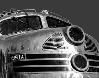 Railroad Art Print - Train Photograph, Locomotive Decor, Urban Home Decor, Train Wall Art, Art Deco Art - Diesel Engine