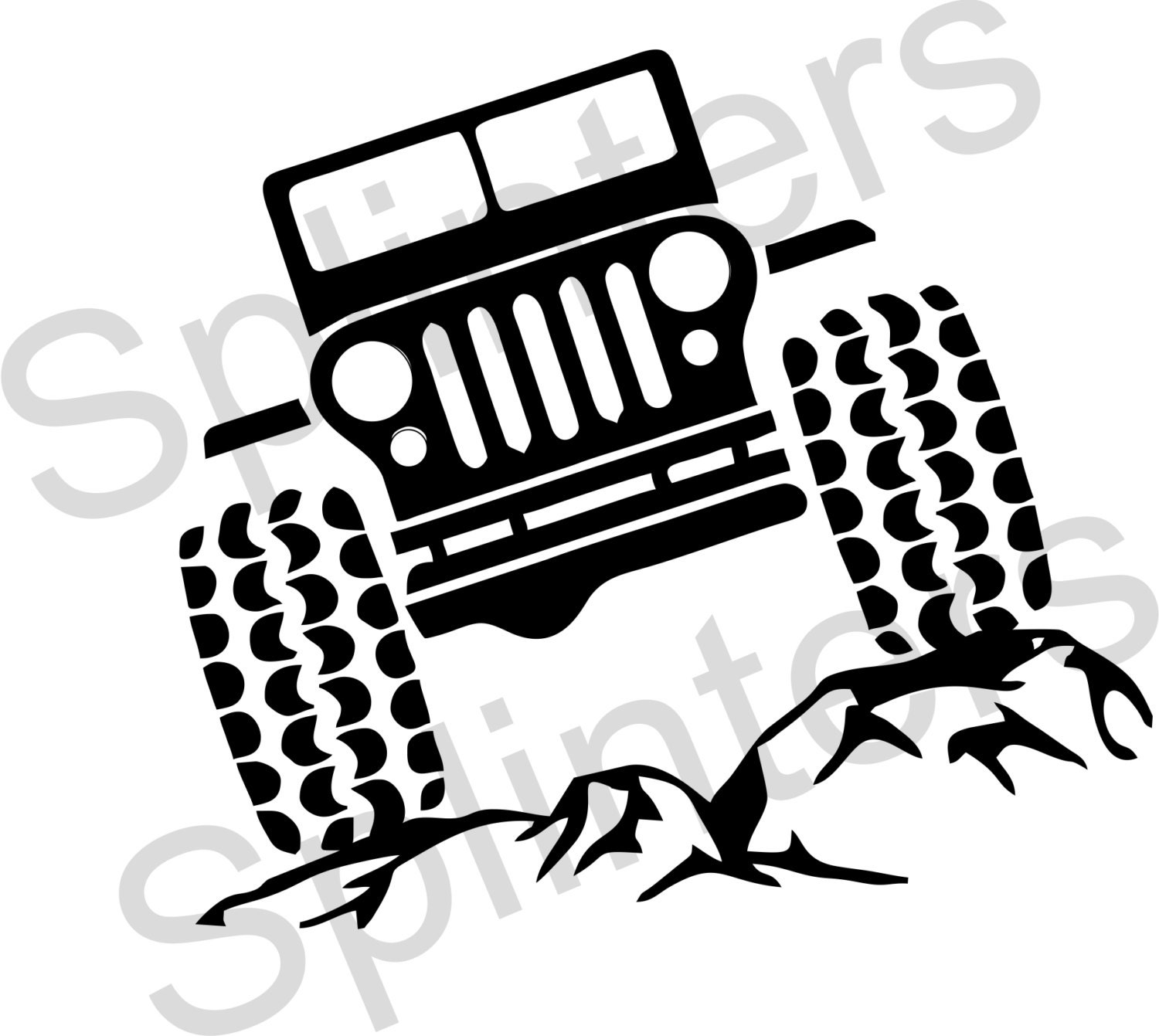 jeep wrangler cartoon pictures
