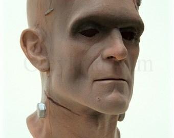 "Original latex mask face Greyland Film ""HUMAINS"" Nr.420"