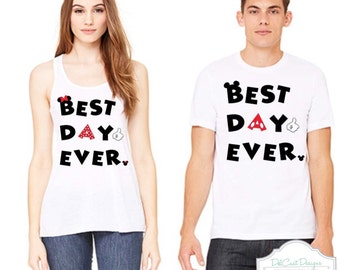 Disney Best Day Ever Shirts