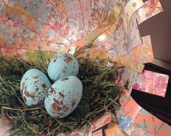 Shabby Chic Sweet Paper Nest
