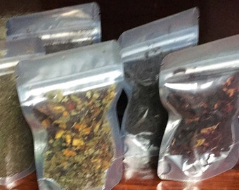 Specialty teas, green, chai, earl grey, blueberry, hibiscus