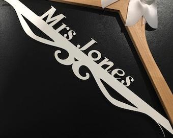 Mrs Jones Style Laser Cut Hanger
