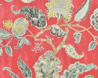Shower Curtain, Designer Shower Curtain, Long Shower Curtain, Waverly Asian Myth Radish Fabric