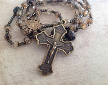 Seven Sorrows of Mary Chaplet, Handmade Catholic Rosary