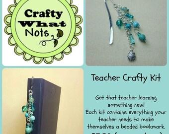 Teacher Thank You Gift ~ Beaded bookmark kit