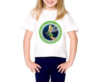 Instant Download Printable Iron On Transfer Tinker Bell Disney Fairy Tshirt Image Tee Shirt