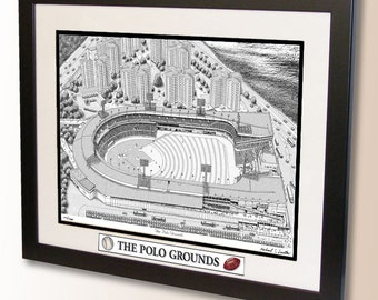The Polo Grounds Art, former home of the New York Giants, Jets, Titans, Mets, Yankees, etc.