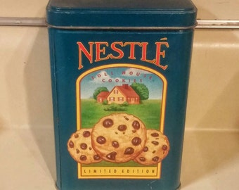 Vintage Nestle Limited Edition Cookie Tin