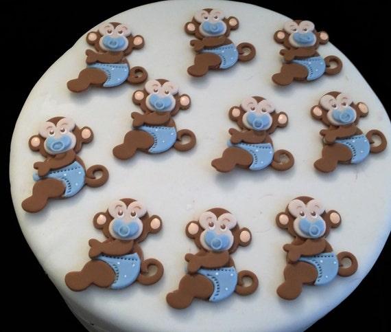 Monkey Baby Shower Party Favors: Monkey Baby Shower Favor Monkey Birthday Decoration Baby