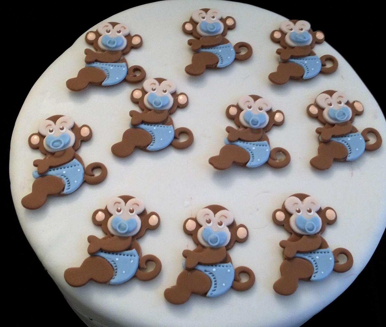 Monkey baby shower favor monkey birthday decoration baby - Monkey baby shower favors ideas ...