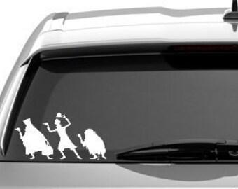 Haunted Mansion Ghosts Disney World Car Window Laptop Tablet Vinyl Sticker Decal - CHOOSE COLOR