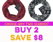 SALE!! Choose 2 & save!!  travel, hidden pocket scarf, gift, passport scarf, wedding, travel gear, travel gift, bridesmaid gift, adventure
