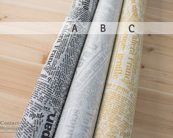 Black, Silver, Gold Lettering Roll Waxed paper_paraffin paper_wrapping paper for cookie, flowers, soap, bakery_Food safe deli wrapper