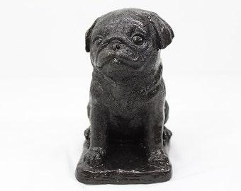 Wonderful Pug Puppy, Statue, Dog, Gift, Garden Decor, Pug, Puppy,